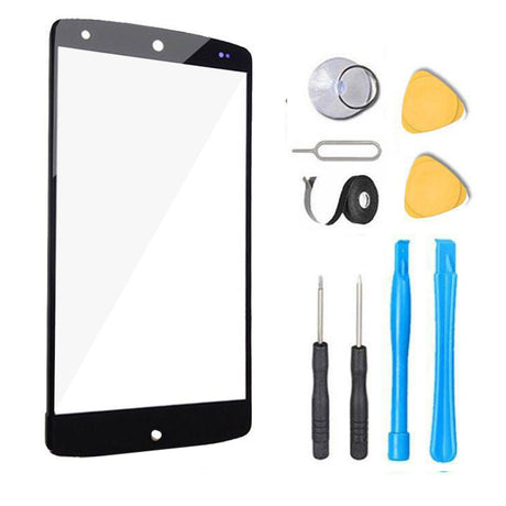 Google Nexus 5 Glass Screen Replacement Premium Repair Kit - Black
