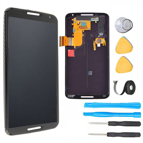 Motorola Google Nexus 6 LCD Screen Replacement and Digitizer Premium Repair Kit - Black