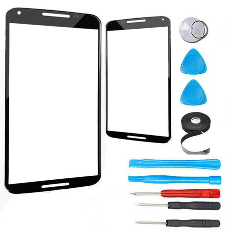 Nexus 6P Glass Screen Replacement Premium Repair Kit - Black