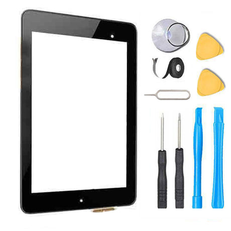 Nexus 7 2013 (2nd Gen) Glass Screen + Touch Digitizer Replacement Premium Repair Kit