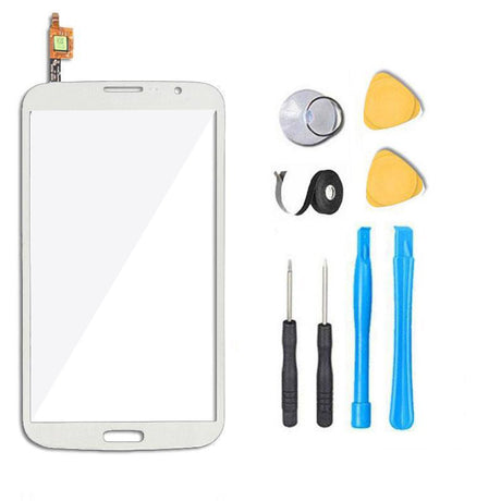 Samsung Galaxy Mega 6.3 Glass and Touchscreen Digitizer Replacement Premium Repair Kit - White