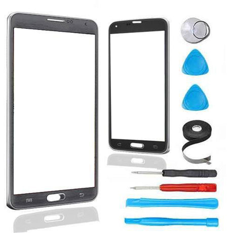 Samsung Galaxy Note 3 Glass Screen Replacement Premium Repair Kit - Gray