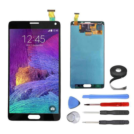 Samsung Galaxy Note 4 LCD Screen and Digitizer Assembly Premium Repair Kit - Black