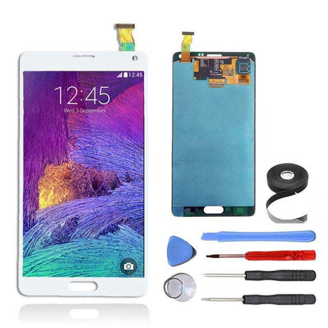Samsung Galaxy Note 4 LCD Screen and Digitizer Assembly Premium Repair Kit - White