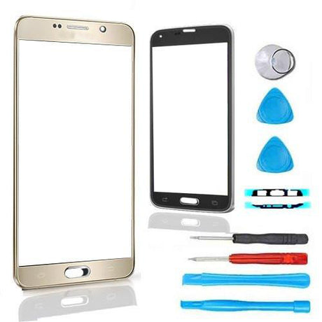 Samsung Galaxy Note 4 Glass Screen Replacement Premium Repair Kit - Gold