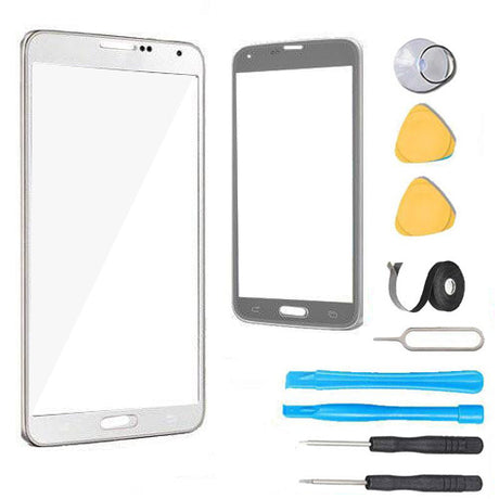 Samsung Galaxy Note 5 Glass Screen Replacement Premium Repair Kit N920 - White