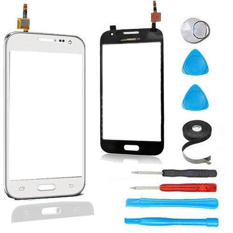 Samsung Galaxy Prevail 4G Glass Screen and Touch Digitizer Replacement Premium Repair Kit G360 - White