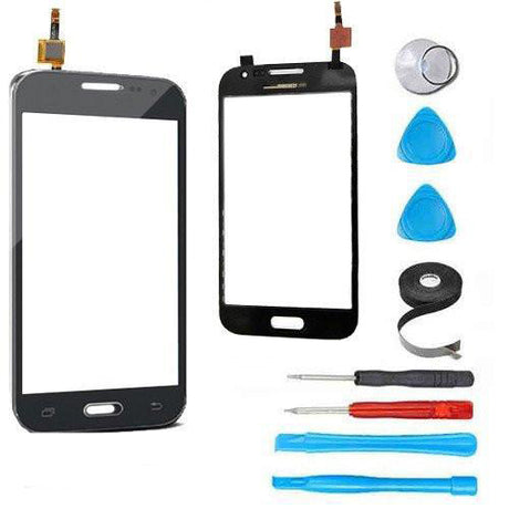Samsung Galaxy Prevail 4G Glass Screen and Touch Digitizer Replacement Premium Repair Kit G360 - Black