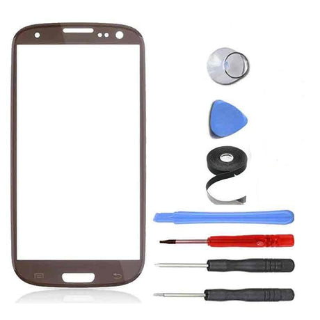 Samsung Galaxy S3 Screen Replacement Premium Repair Kit - Brown
