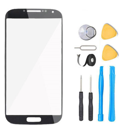 Samsung Galaxy S4 Glass Screen Replacement Premium Repair Kit - Black