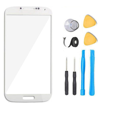 Samsung Galaxy S4 Glass Screen Replacement Premium Repair Kit - White