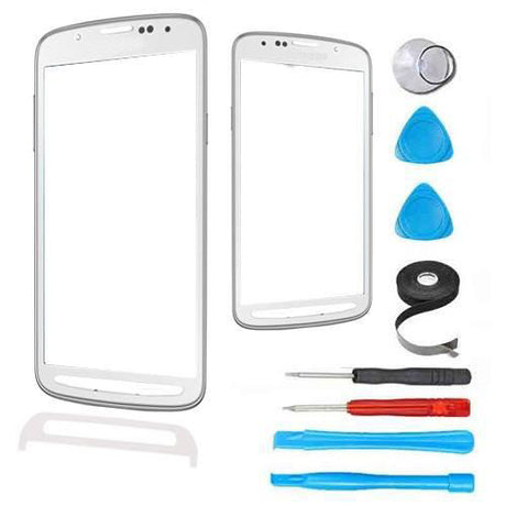 Samsung Galaxy S4 Active Glass Screen Replacement Premium Repair Kit - White