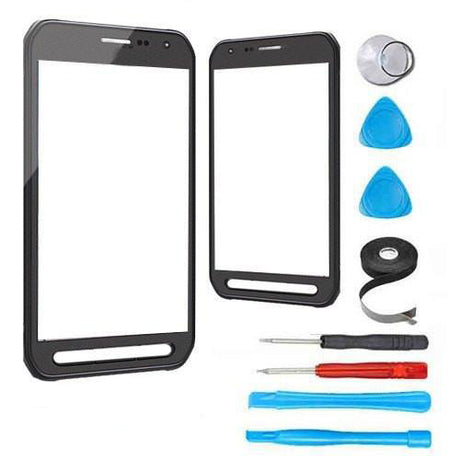 Samsung Galaxy S6 Active Glass Screen Replacement Premium Repair Kit - Gray / Black