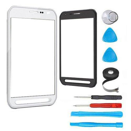 Samsung Galaxy S6 Active Glass Screen Replacement Premium Repair Kit - White
