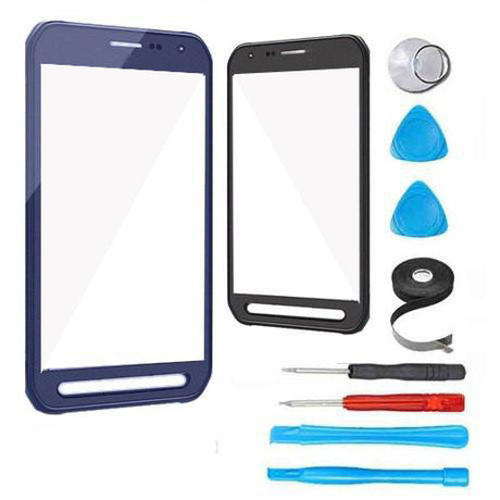 Samsung Galaxy S6 Active Glass Screen Replacement Premium Repair Kit - Blue