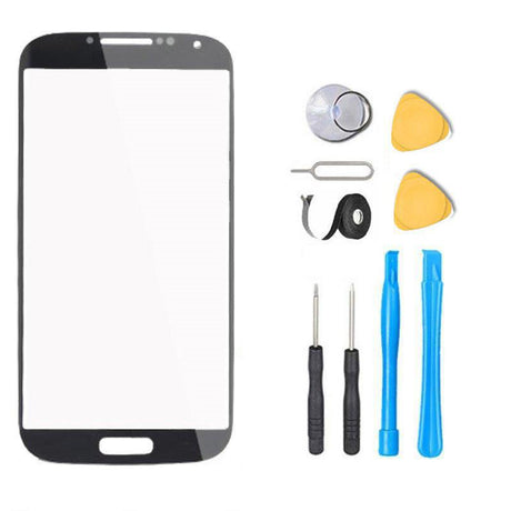 Samsung Galaxy S4 Mini Glass Screen Replacement Premium Repair Kit - Black