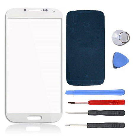 Samsung Galaxy S4 Mini Glass Screen Replacement Premium Repair Kit - White