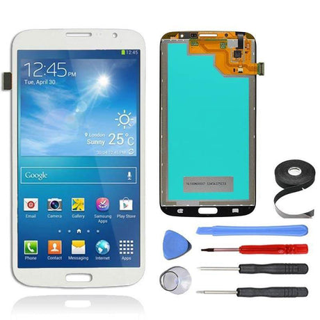 Samsung Galaxy Mega 6.3 LCD Screen and Digitizer Assembly Premium Repair Kit - White