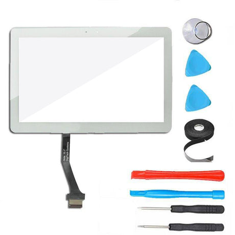 "Samsung Galaxy Tab 2 (10.1"") Glass Screen and Touch Digitizer Replacement Premium Repair Kit P5113 