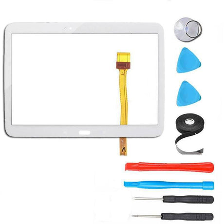 "Samsung Galaxy Tab 3 (10.1"") Glass Screen and Touch Digitizer Replacement Premium Repair Kit  - White"