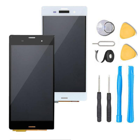 Sony Xperia Z3+ Plus LCD Screen Replacement and Digitizer Display Premium Repair Kit  E6553 E6533- Black or White