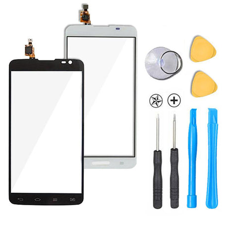 LG G Pro Lite Glass Screen + Touch Digitizer Replacement Premium Repair Kit D680 D682 D684 D685 D686