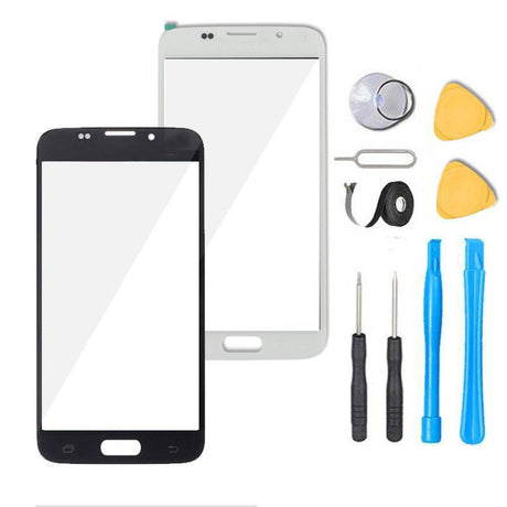 Samsung Galaxy S6 Glass Screen Replacement Premium Repair Kit - Black or White