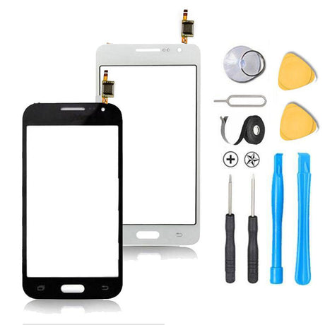 Samsung Galaxy Grand Duos Glass Screen + Touch Digitizer Replacement Premium Repair Kit i9080 | i9082 - Blue, Black, White