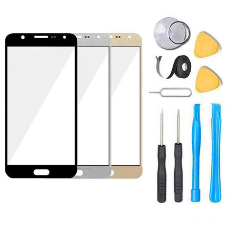 Samsung Galaxy J3 Glass Screen Replacement Premium Repair Kit J3V J320 J36 J36V J327- Black / White / Gold