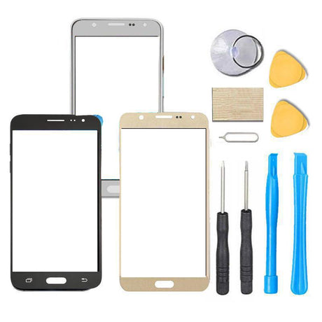 Samsung Galaxy J7V J7 V Glass Screen Replacement Premium Repair Kit J727V - Black or Gold
