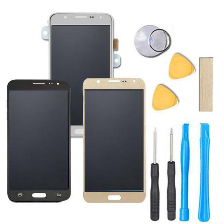 Samsung Galaxy J3 Screen Replacement + LCD + Digitizer Assembly Premium Repair Kit J3V J320 J36 J36V J327 - Black / Gold /White
