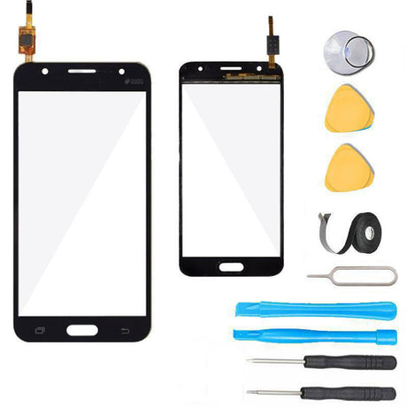 Samsung Galaxy J5 Glass Screen Replacement + Touch Digitizer Premium Repair Kit J500- Black