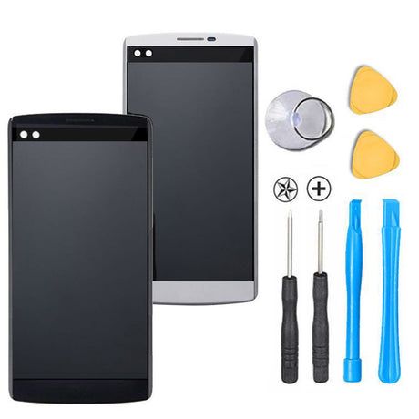 LG V10 Screen Replacement + LCD + FRAME + Digitizer Premium Repair Kit  - Black or White