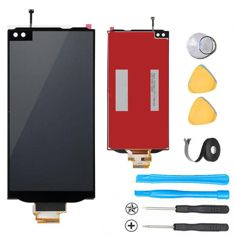 LG V10 Screen Replacement + LCD + Digitizer Premium Repair Kit  - Black