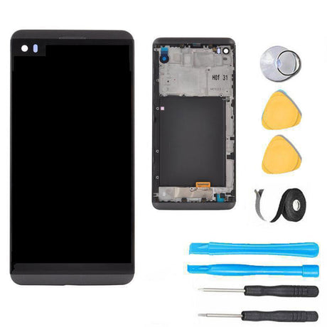 LG V20 LCD Screen Replacement + Frame + Digitizer Premium Repair Kit  - Black