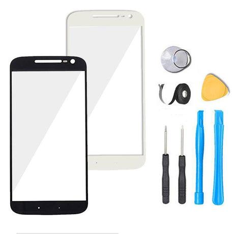 Motorola Moto G4 Plus Glass Screen Replacement Premium Repair Kit XT1641 | XT1642 | XT1643 | XT1644  - Black / White