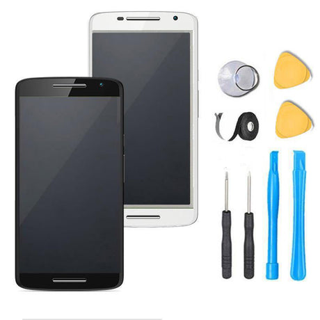 Motorola Moto X Play Screen Replacement + LCD + Digitizer Premium Repair Kit XT1561 XT1562 XT1563 - Black or White