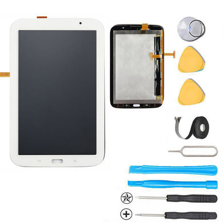 Galaxy Note 8.0 LCD Screen Replacement and Touch Digitizer Premium Repair Kit N110  - White