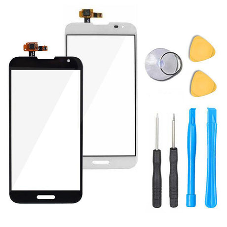 LG Optimus G Pro Glass Screen Replacement + Touch Digitizer Premium Repair Kit E980 | E985 | E986 | E989 | F240 | L-04E - Black or White