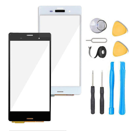 Sony Xperia Z3+ Plus Glass Screen Replacement + Touch Digitizer Premium Repair Kit E6553 E6533 - Black or White