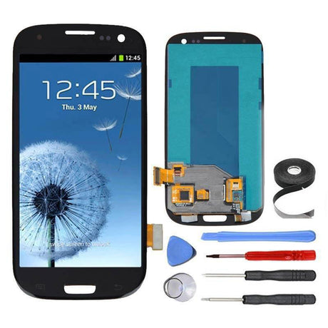 Samsung Galaxy S3 LCD Screen and Digitizer Assembly Premium Repair Kit - Black
