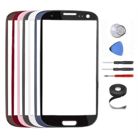 Samsung Galaxy S3 Glass Screen Replacement Premium Repair Kit - Pick a Color