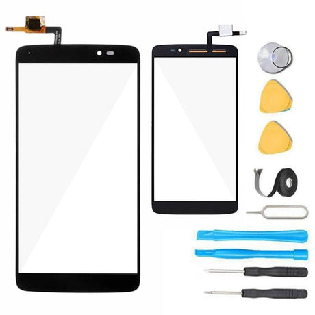 "Alcatel One Touch Idol 3 Glass Screen Replacement (5.5"") Digitizer Premium Repair Kit - OT-6045O 6045K 6045Y 6045i"