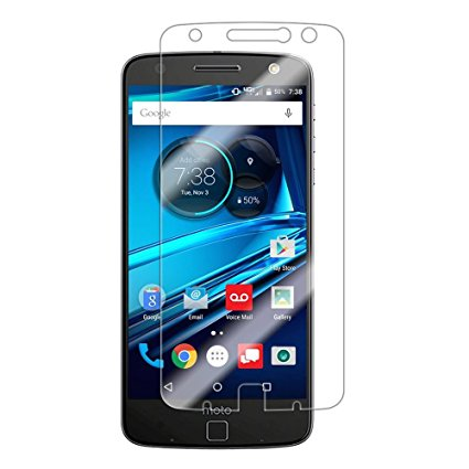 Motorola Moto Z Play Droid Tempered Glass Screen Protector