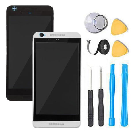 HTC Desire 626S Screen Replacement LCD Digitizer + Frame Display Premium Repair Kit OPM9110 - Black or White