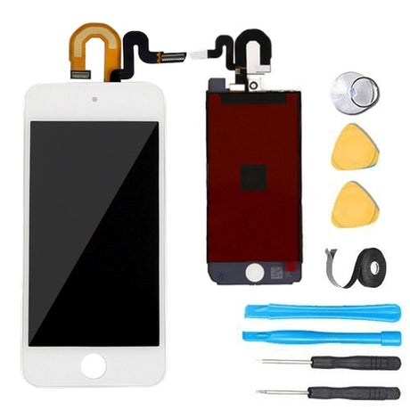 iPod Touch 6 Glass Screen Digitizer Replacement Premium Repair Kit - White