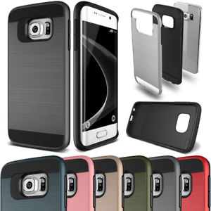 Slim Brushed Protective Hard Case Cover - Samsung Galaxy J7 (J727)