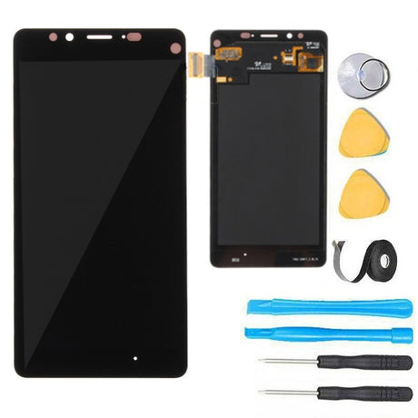 Nokia Lumia 950 LCD Screen Replacement + Touch Digitizer Premium Repair Kit - Black