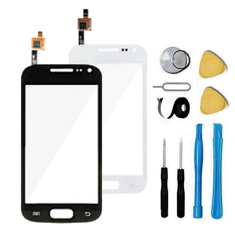 Samsung Galaxy Ace 2 Glass Screen Replacement + Touch Digitizer Replacement Premium Repair Kit i8160 T599- Black or White