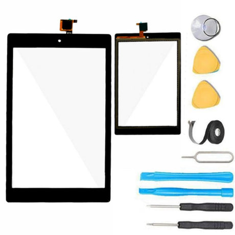 Amazon Kindle Fire HD 8 (7th Gen) Glass Screen Replacement parts plus tools